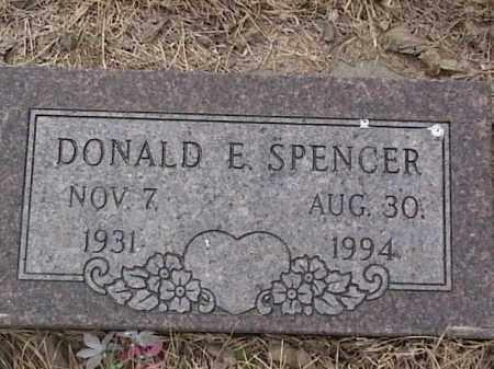 SPENCER, DONALD E. - Sarpy County, Nebraska   DONALD E. SPENCER - Nebraska Gravestone Photos