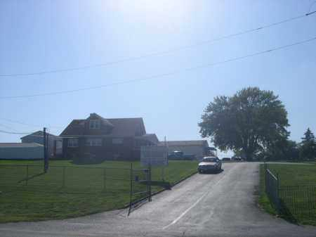 *ST. JOHN'S CEMETERY, ENTRANCE TO - Sarpy County, Nebraska | ENTRANCE TO *ST. JOHN'S CEMETERY - Nebraska Gravestone Photos