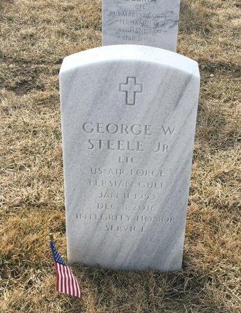 STEELE, GEORGE - Sarpy County, Nebraska | GEORGE STEELE - Nebraska Gravestone Photos