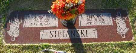 STEFANSKI, JOHN F. - Sarpy County, Nebraska | JOHN F. STEFANSKI - Nebraska Gravestone Photos