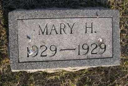 STEVENS, MARY H. - Sarpy County, Nebraska | MARY H. STEVENS - Nebraska Gravestone Photos