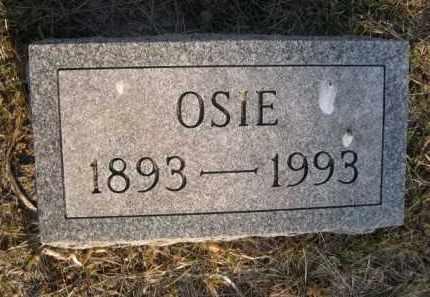 STEVENS, OSIE - Sarpy County, Nebraska   OSIE STEVENS - Nebraska Gravestone Photos