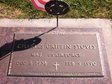 STOVES, CHARLES GRIFFIN - Sarpy County, Nebraska | CHARLES GRIFFIN STOVES - Nebraska Gravestone Photos