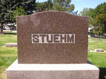 STUEHM, FAMILY - Sarpy County, Nebraska | FAMILY STUEHM - Nebraska Gravestone Photos