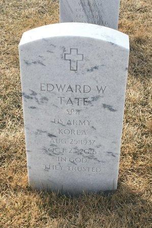 TATE, EDWARD - Sarpy County, Nebraska | EDWARD TATE - Nebraska Gravestone Photos