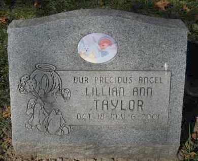 TAYLOR, LILLIAN ANN - Sarpy County, Nebraska   LILLIAN ANN TAYLOR - Nebraska Gravestone Photos