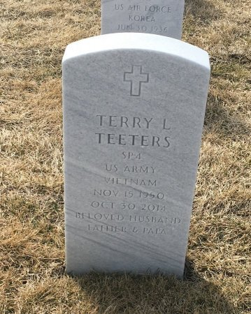 TEETERS, TERRY - Sarpy County, Nebraska   TERRY TEETERS - Nebraska Gravestone Photos