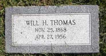 THOMAS, WILL H. - Sarpy County, Nebraska   WILL H. THOMAS - Nebraska Gravestone Photos