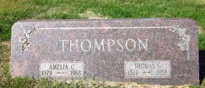 THOMPSON, AMELIA C. - Sarpy County, Nebraska | AMELIA C. THOMPSON - Nebraska Gravestone Photos