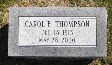 THOMPSON, CAROL E. - Sarpy County, Nebraska | CAROL E. THOMPSON - Nebraska Gravestone Photos