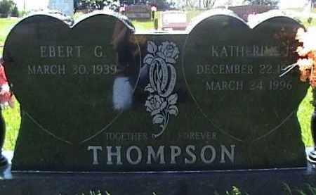 THOMPSON, EBERT G - Sarpy County, Nebraska   EBERT G THOMPSON - Nebraska Gravestone Photos