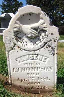 THOMPSON, HANSENE - Sarpy County, Nebraska   HANSENE THOMPSON - Nebraska Gravestone Photos