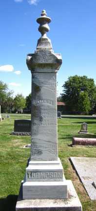 THOMPSON, MATILDA - Sarpy County, Nebraska | MATILDA THOMPSON - Nebraska Gravestone Photos