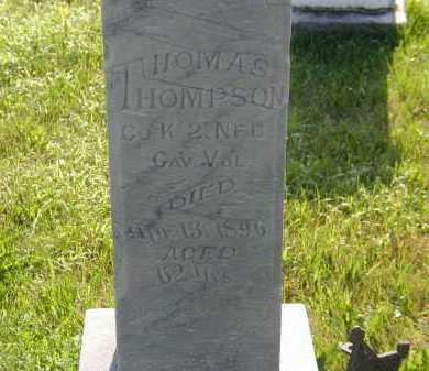 THOMPSON, THOMAS - Sarpy County, Nebraska | THOMAS THOMPSON - Nebraska Gravestone Photos