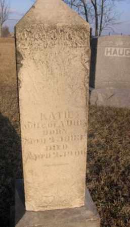 UHE, KATIE - Sarpy County, Nebraska | KATIE UHE - Nebraska Gravestone Photos