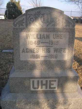 UHE, WILLIAM - Sarpy County, Nebraska | WILLIAM UHE - Nebraska Gravestone Photos