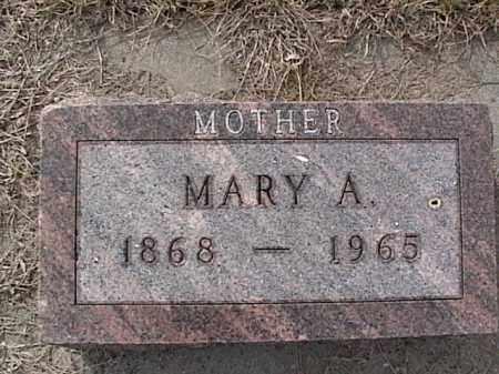 SAUTTER, MARY A. - Sarpy County, Nebraska | MARY A. SAUTTER - Nebraska Gravestone Photos
