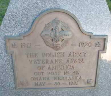 *VETERANS MEMORIAL, WORLD WAR I - Sarpy County, Nebraska   WORLD WAR I *VETERANS MEMORIAL - Nebraska Gravestone Photos