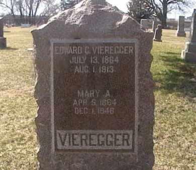 VIEREGGER, MARY A. - Sarpy County, Nebraska | MARY A. VIEREGGER - Nebraska Gravestone Photos