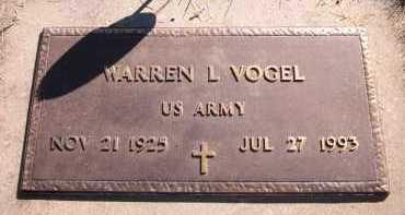 VOGEL, WARREN L. - Sarpy County, Nebraska   WARREN L. VOGEL - Nebraska Gravestone Photos