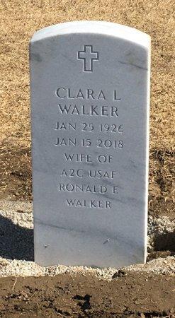 WALKER, CLARA - Sarpy County, Nebraska | CLARA WALKER - Nebraska Gravestone Photos