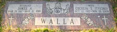 TYLSKI WALLA, CECELIA T. - Sarpy County, Nebraska | CECELIA T. TYLSKI WALLA - Nebraska Gravestone Photos