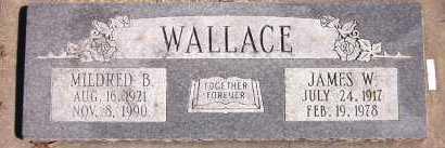 WALLACE, MILDRED B. - Sarpy County, Nebraska   MILDRED B. WALLACE - Nebraska Gravestone Photos