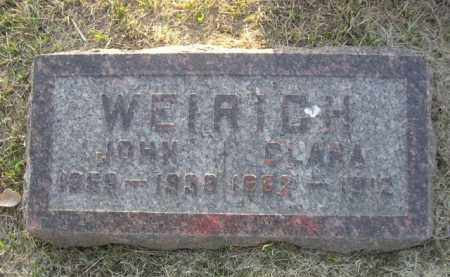 WEIRICH, JOHN - Sarpy County, Nebraska | JOHN WEIRICH - Nebraska Gravestone Photos