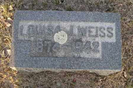 WEISS, LOUISA I. - Sarpy County, Nebraska | LOUISA I. WEISS - Nebraska Gravestone Photos