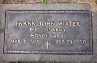 WIATER, FRANK JOHN - Sarpy County, Nebraska   FRANK JOHN WIATER - Nebraska Gravestone Photos