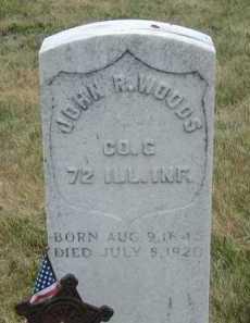 WOODS, JOHN R - Sarpy County, Nebraska | JOHN R WOODS - Nebraska Gravestone Photos