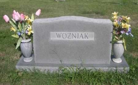 WOZNIAK, FAMILY - Sarpy County, Nebraska | FAMILY WOZNIAK - Nebraska Gravestone Photos