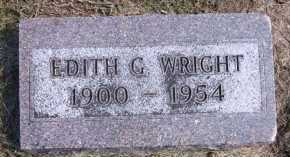 WRIGHT, EDITH G. - Sarpy County, Nebraska | EDITH G. WRIGHT - Nebraska Gravestone Photos