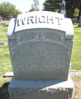 WRIGHT, LUCY E. - Sarpy County, Nebraska | LUCY E. WRIGHT - Nebraska Gravestone Photos