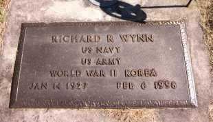 WYNN, RICHARD R. - Sarpy County, Nebraska | RICHARD R. WYNN - Nebraska Gravestone Photos