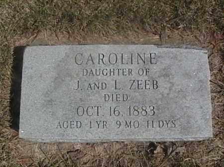 ZEEB, CAROLINE - Sarpy County, Nebraska   CAROLINE ZEEB - Nebraska Gravestone Photos