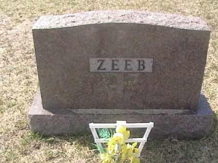 ZEEB, FAMILY HEADSTONE - Sarpy County, Nebraska | FAMILY HEADSTONE ZEEB - Nebraska Gravestone Photos