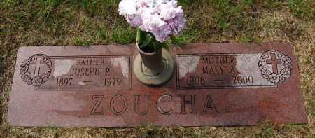 ZOUCHA, MARY A. - Sarpy County, Nebraska | MARY A. ZOUCHA - Nebraska Gravestone Photos
