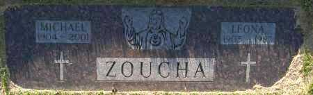 ZOUCHA, MICHAEL - Sarpy County, Nebraska   MICHAEL ZOUCHA - Nebraska Gravestone Photos