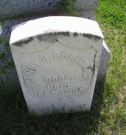 BRAINARD, HENRY H. - Saunders County, Nebraska | HENRY H. BRAINARD - Nebraska Gravestone Photos