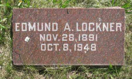 LOCKNER, EDUMD - Saunders County, Nebraska | EDUMD LOCKNER - Nebraska Gravestone Photos
