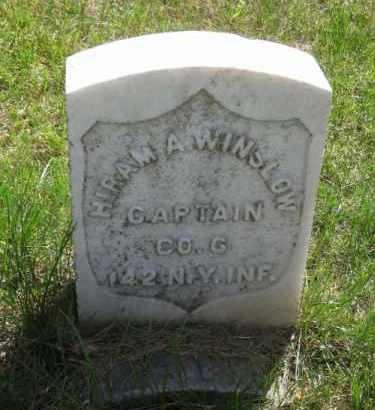 WINSLOW, HIRAM A. - Saunders County, Nebraska | HIRAM A. WINSLOW - Nebraska Gravestone Photos