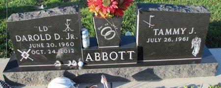 ABBOTT, TAMMY J. - Saunders County, Nebraska | TAMMY J. ABBOTT - Nebraska Gravestone Photos