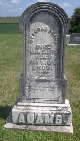 ADAMS, DEBORAH - Saunders County, Nebraska | DEBORAH ADAMS - Nebraska Gravestone Photos