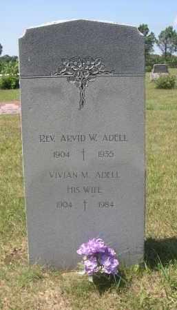 ADELL, ARVID W. - Saunders County, Nebraska   ARVID W. ADELL - Nebraska Gravestone Photos