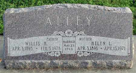 ALLEY, HELEN L. - Saunders County, Nebraska | HELEN L. ALLEY - Nebraska Gravestone Photos