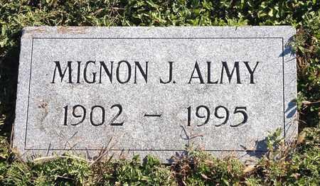 ALMY, MIGNON J - Saunders County, Nebraska | MIGNON J ALMY - Nebraska Gravestone Photos
