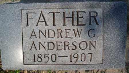 ANDERSON, ANDREW G - Saunders County, Nebraska | ANDREW G ANDERSON - Nebraska Gravestone Photos