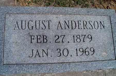 ANDERSON, AUGUST - Saunders County, Nebraska | AUGUST ANDERSON - Nebraska Gravestone Photos
