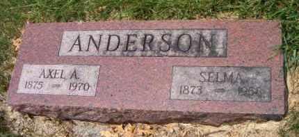 ANDERSON, SELMA - Saunders County, Nebraska | SELMA ANDERSON - Nebraska Gravestone Photos